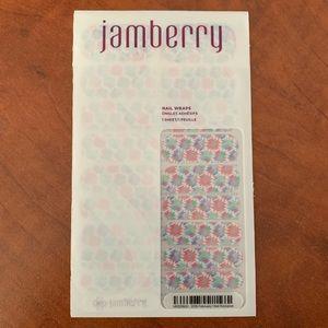 Jamberry February 2016 Hostess Wrap. Full sheet.